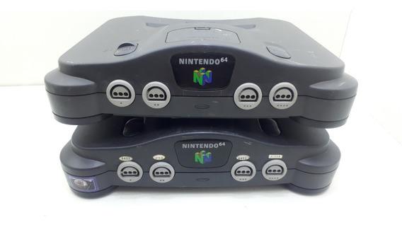 2 Unidades De Nintendo 64 (( No Estado ))