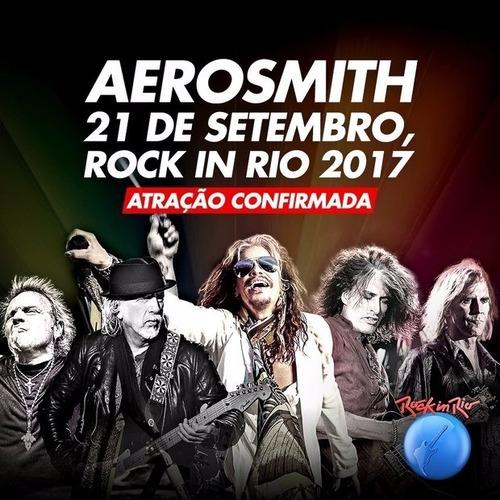 Ingresso Rock In Rio 21/09 Aerosmith - Interia