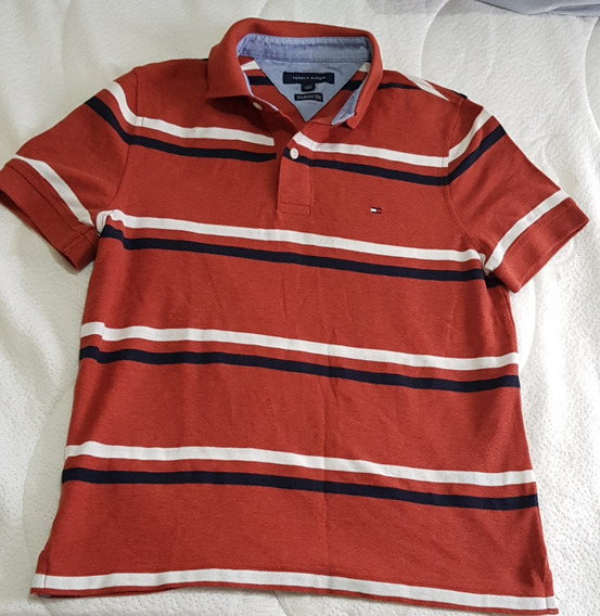 Camisa Masculina Tommy Hilfiger Polo Tam Xs Pp