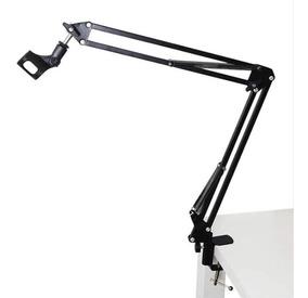 Pedestal Suporte De Mesa Articulado Para Microfone Estúdio
