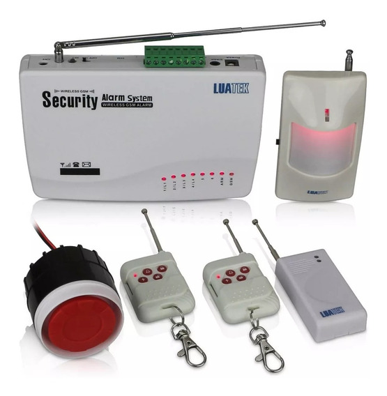 Kit De Alarme Residencial Wireless Luatek Lka-2111111