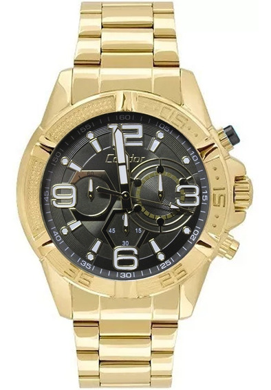 Relógio Masculino Condor Covd54au/4c - Dourado