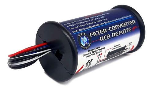 Imagen 1 de 1 de Conversor Jfa Rca Remoto Con Filtro Antiruido