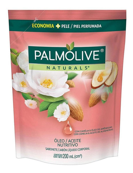 Sabonete Líquido Palmolive Óleo Nutritivo Refil 200ml