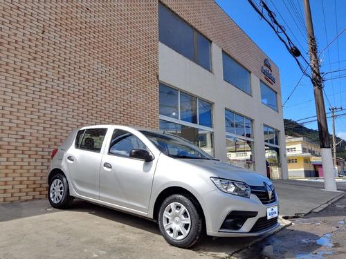 Imagem 1 de 11 de Renault Sandero Life 1.0 2020 Completo Melhor Preço!