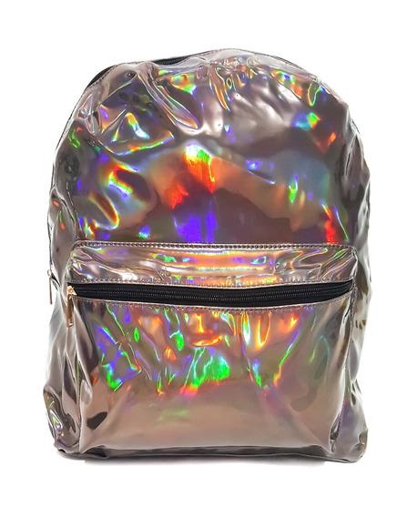 Mochila G Holográfica Super Brilho Várias Cores Promoção