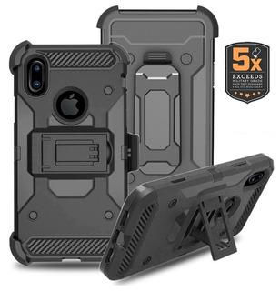 Capa Case iPhone Xs Max Anti Impacto Shock C/ Clipe De Cinto