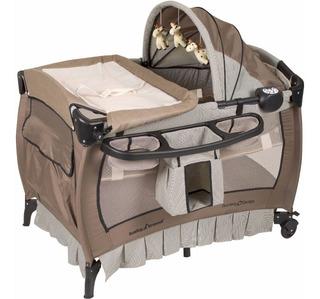 Cuna Corralito Cambiador Mp3 Vibracion Baby Trend Hudson