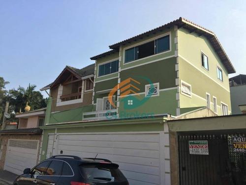 Sobrado Com 3 Dormitórios À Venda, 280 M² Por R$ 865.000,00 - Vila Sirena - Guarulhos/sp - So0677
