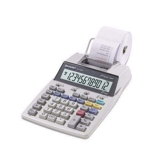 Calculadora Sharp El-1750v