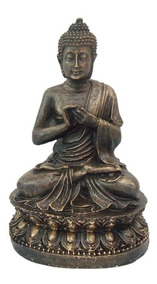 Buda Hindu Rezando Namastê Tailandês Tibetano Em Resina