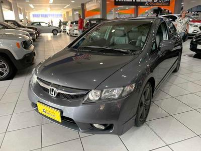 Honda Civic 1.8 Lxs Flex Automatico 4p 2010 Novo