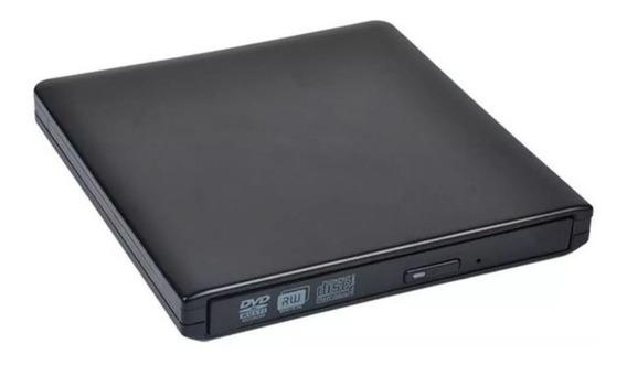 Gravador De Dvd Cd Externo Usb Slim Ultra Portatil 2.0/3.0