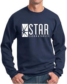 Sudadera Star Labs Sudadera Superheroe Star Laboratories Azu
