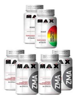 Combo 4x Zma 90cps + 2x Multimax 90cps - Max Titanium