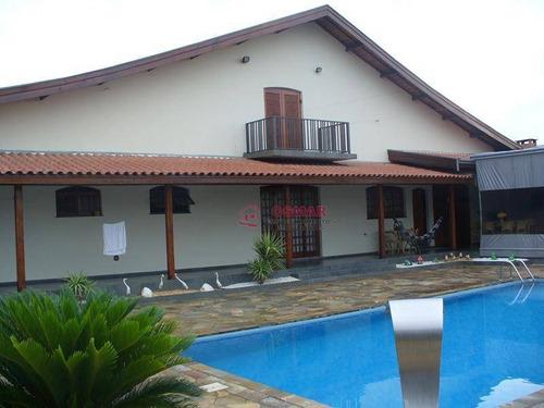 Chácara Com 4 Dormitórios À Venda, 1000 M² Por R$ 1.300.000,00 - Jardim Santa Madalena - Sumaré/sp - Ch0011