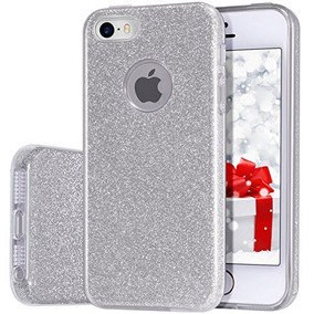 d601aaf586b Funda iPhone 5s 5, Milprox Para Ninas. Caja Brillante Bril