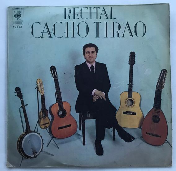 Disco Recital Cacho Tirao Vinilo