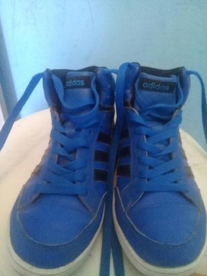Zapatillas Azules Ádidas Talle 35