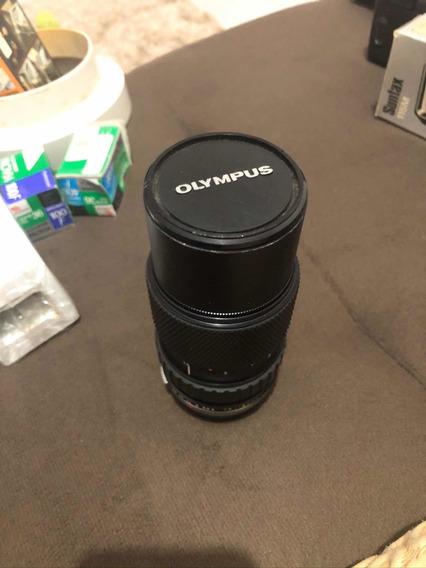 Câmera Antiga Lente Olympus