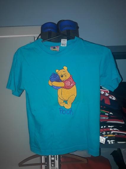 Remera Vintage Winnie Pooh Diwney Ee Uu