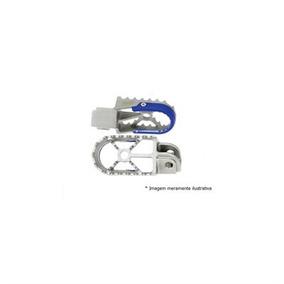 Pedaleira Sherco 11 Aluminio/azul Moto X