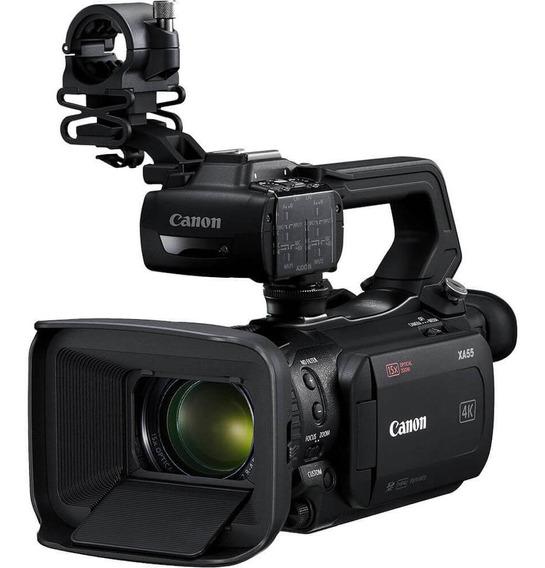 Filmadora Canon Xa55 Uhd 4k Profissional Dual-pixel Autofoco
