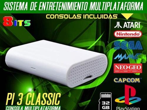 Consola Retro Pi 3 Classic