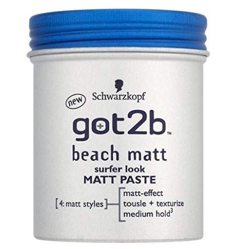 Got2b Schwarzkopf Pasta Pomada Cabelo Modeladora Beach Matte