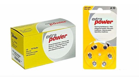Pilha Aparelho Auditivo 10, Bateria Auditiva A10, Power