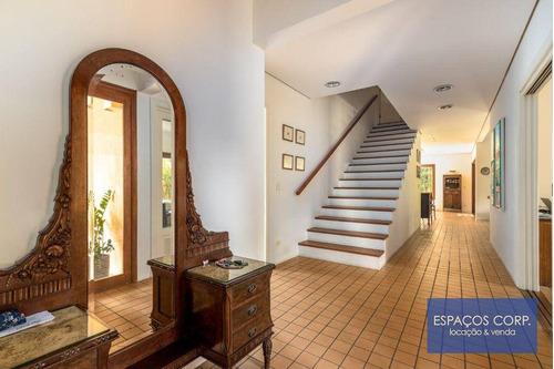 Casa Com 4 Dormitórios À Venda, 300m² Por R$ 1.500.000 - Morumbi - São Paulo/sp - Ca0082