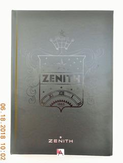 Libro De Relojeria Zenith 280 Paginas Español Fotos Reales