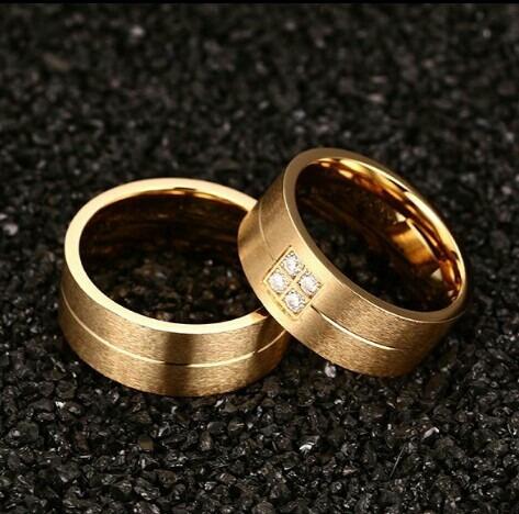 Par De Aliança Folheado Em Ouro,casamento Ou Noivado!!