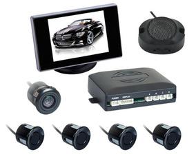 Sensor Estac.pt-re Camera E Tela 3,5´ 12v C/ 4 Sensores-zap