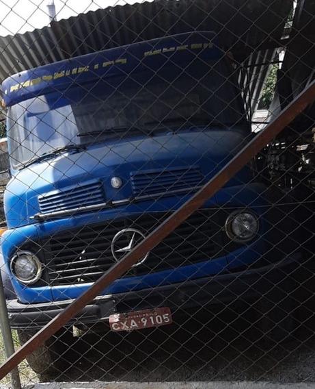 Mb 1113 Truck Munk 5 Toneladas Carroceria Ano 1970