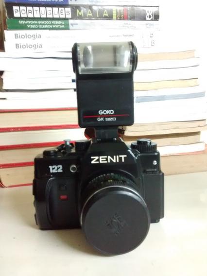 Câmera Fotográfica Analógica - Zenit 122 - Origem U R S S