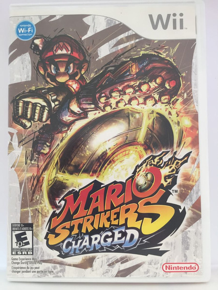 Jogo Wii Mario Strikers Charged Nintendo