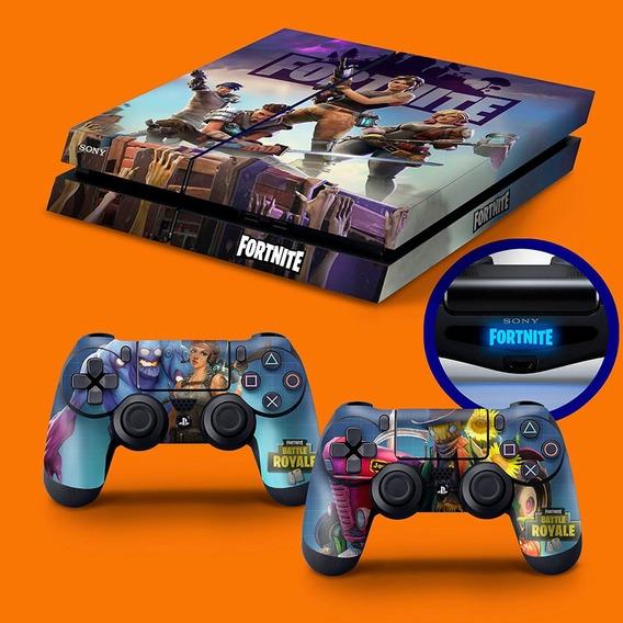 Skin Playstation 4 Fat Ps4 Adesivo Fortnite
