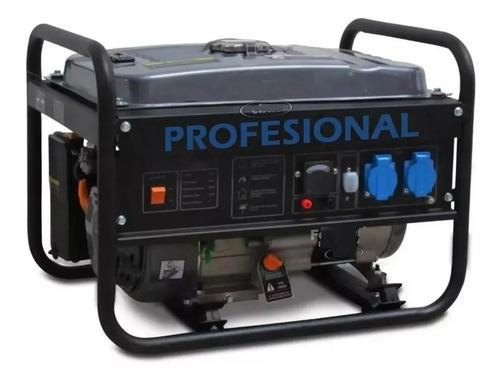 Generador 220v Nafta 5hp 3300w Industrial 10hscontinuo