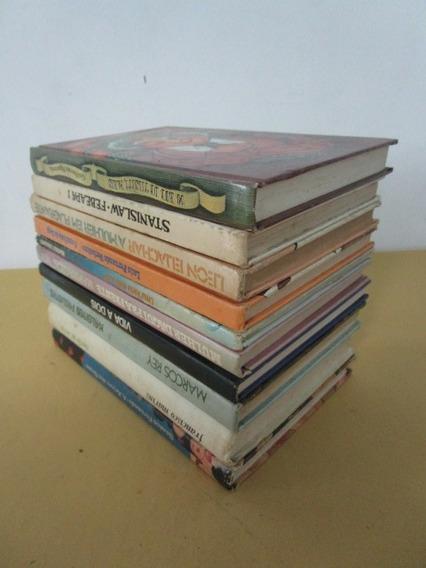10 Livros - Melhores Autores - Capa Dura - Lote 40