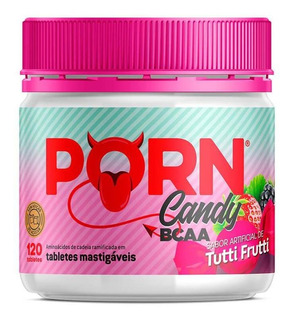 Porn Candy Bcaa Tutti Frutti 120 Tabletes - Porn Fit