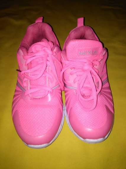 Zapatos Deportivos Para Dama Nexus Talla 36 Usados Poco Uso