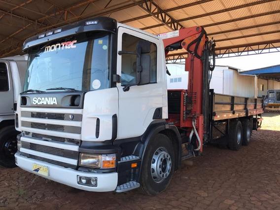 Scania P 94 230 6x2 Com Munck Argus 20500