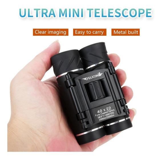 Felicon Esportes Exteriores Ultra 40x22 Telescópio Binóculos