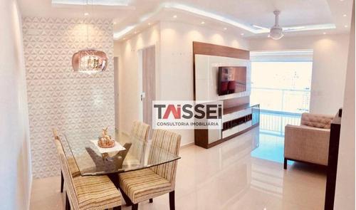 Apartamento Com 2 Dormitórios À Venda, 70 M² - Vila Mascote - São Paulo/sp - Ap7737
