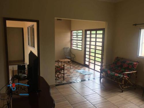 Chácara Com 3 Dormitórios À Venda, 5240 M² Por R$ 900.000,00 - Centro - São Simão/sp - Ch0005