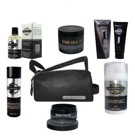 The Shaving Co. Set Completo De Aseo Personal Con Washbag