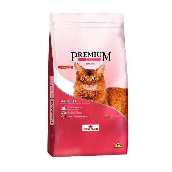 Ração Royal Canin Premium Cat Para Gatos Adultos Castrados - 10kg