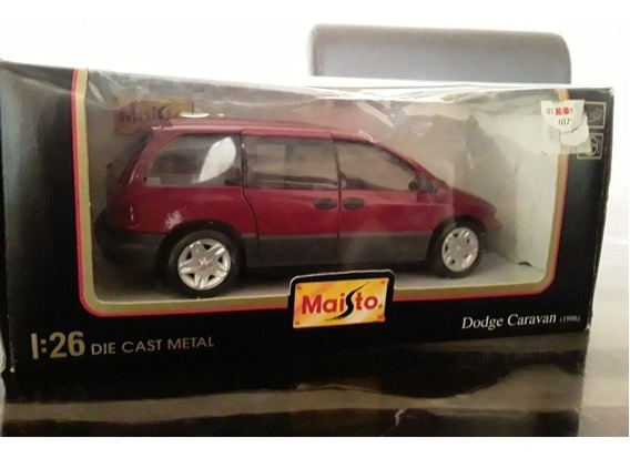Carro A Escala 1/24 Dodge Caravan 1996