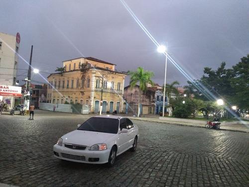 Honda Civic Completo 1.6 Banco De Couro Ipva Pago Placa Merc